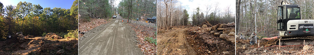 Spicer Tree excavation and home building in Maine